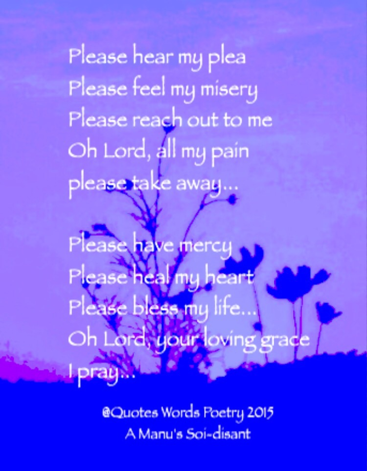Please Quotes Words Poetry A Manus Soi Disant